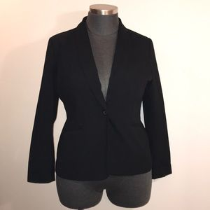 Old Navy XL Black Single Button Blazer